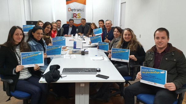Servidores do DetranRS com certificado